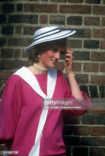Diana, Princess of Wales, Wedding of Diana's former flatmate Carolyn Pride and William Bartholomew at Chelsea Old Church, 3rd September 1982.