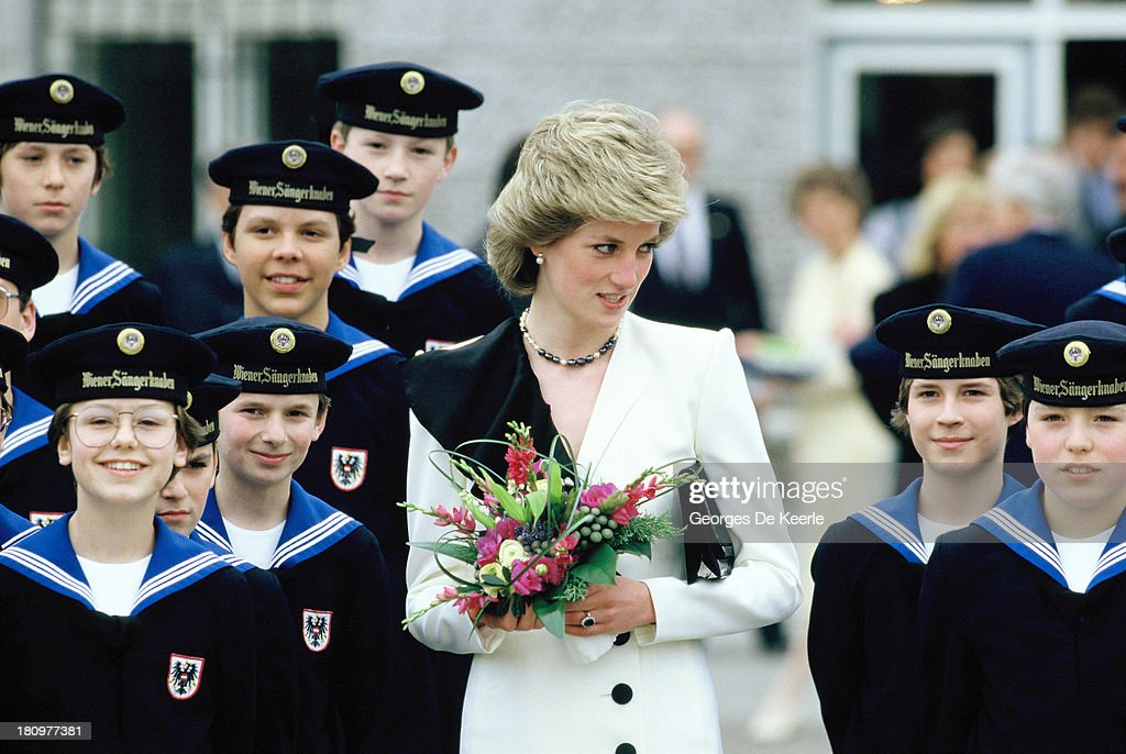 Princess Diana In Austria : News Photo