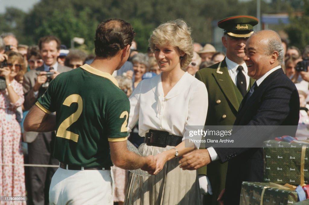 Diana At Polo : News Photo
