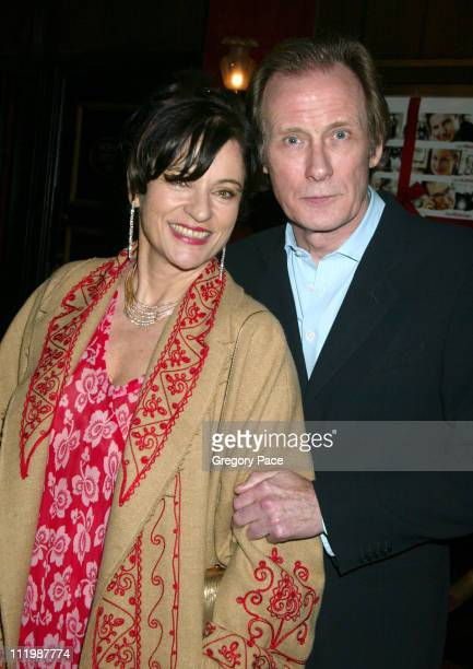 Diana Quick and Bill Nighy during Love Actually New York Premiere Inside Arrivals at Ziegfeld Theatre in New York City New York United States