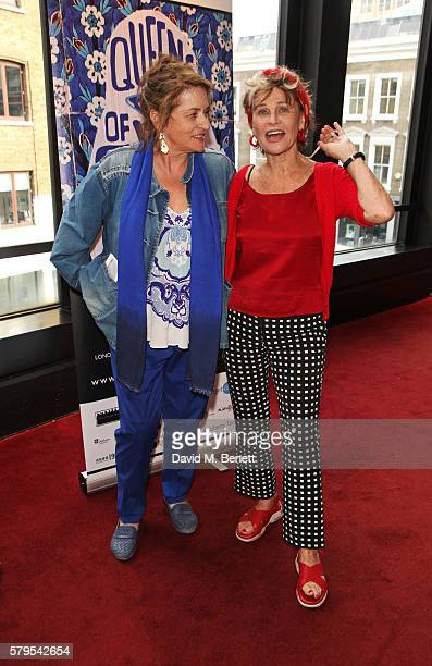 Diana Quick and Julie Christie attend the West End Gala Performance of Queens Of Syria a modern adaptation of Euripides' antiwar tragedy 'The Trojan...