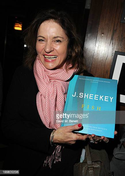Diana Quick attends as Oyster Bar J Sheekey launches it's first cook book 'Fish' at J Sheekey Saint Martin's Court on November 8 2012 in London...