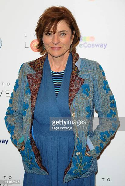 Diana Quick attends Pad Yatra A Green Odyssey gala screening held at BAFTA on March 16 2012 in London England