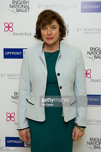 Diana Quick attends the English National Ballet preperformance party to celebrate their new season which honours the legacy of the Ballet Russes at...