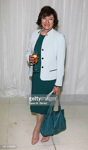 Diana Quick attends the English National Ballet preperformance party to celebrate their new season honoring the legacy of Ballet Russes at St Martins...