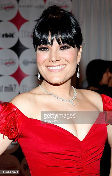 Diana Reyes attends the 15th annual People en Espanol '50 Most Beautiful' Issue Celebration at Guastavino's on May 19 2011 in New York City