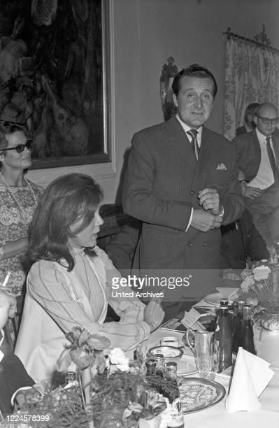 Diana Rigg and Patrick MacNee, Germany, 1960s.