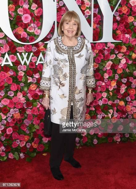 Diana Rigg attends the 72nd Annual Tony Awards at Radio City Music Hall on June 10, 2018 in New York City.