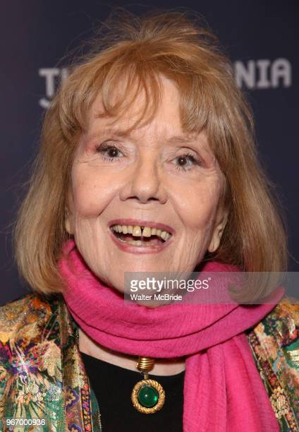 Diana Rigg during the arrivals for the 2018 Drama Desk Awards at Town Hall on June 3 2018 in New York City