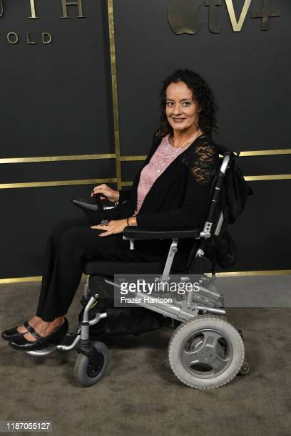 Diana Romero attends the Premiere Of Apple TV's Truth Be Told at AMPAS Samuel Goldwyn Theater on November 11 2019 in Beverly Hills California