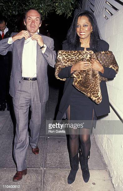 Diana Ross and Arne Naess
