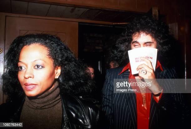 Diana Ross and Gene Simmons circa 1979 in New York City, New York.