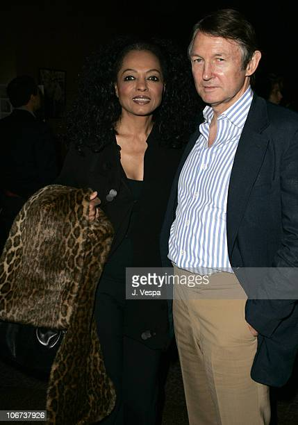 Diana Ross and George Butler attend the Palisades Pictures screening of Going Upriver The Long War of John Kerry to kick off its college tour and DVD...
