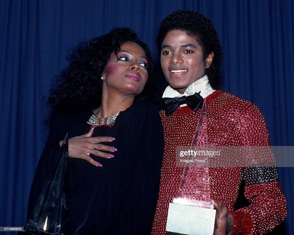 Michael Jackson receives American Music Awards : Foto jornalística