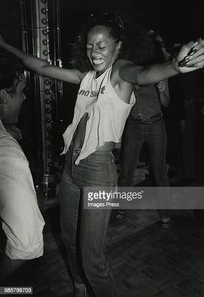 Diana Ross at Studio 54 circa 1979 in New York City
