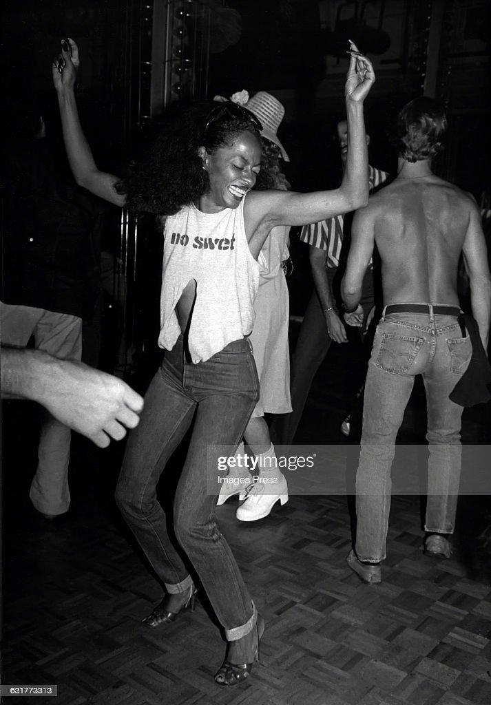 Diana Ross at Studio 54... : News Photo