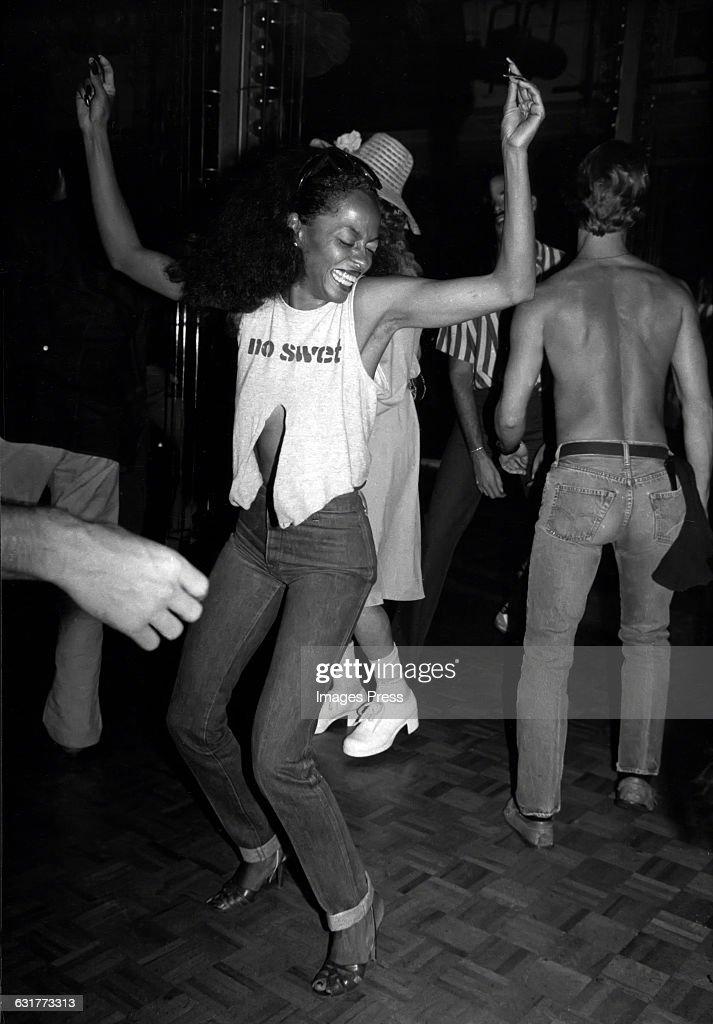 Diana Ross at Studio 54... : Foto jornalística