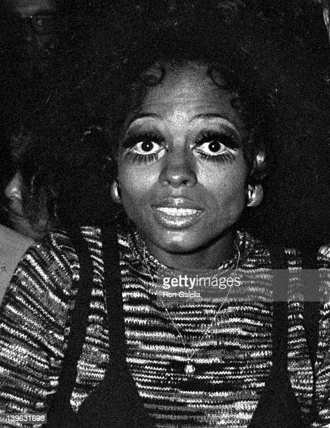 Diana Ross attends Diana Ross Opening on September 9 1970 at the Waldorf Hotel in New York City