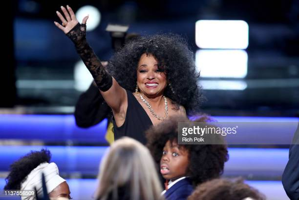 Diana Ross attends Motown 60 A GRAMMY Celebration at Microsoft Theater on February 12 2019 in Los Angeles California