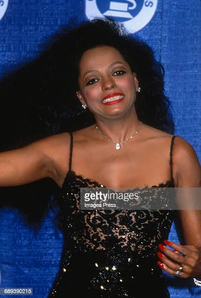 Diana Ross attends the 30th Annual Grammy Awards circa 1988 in New York City