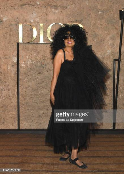 Diana Ross attends the Christian Dior Couture S/S20 Cruise Collection on April 29 2019 in Marrakech Morocco