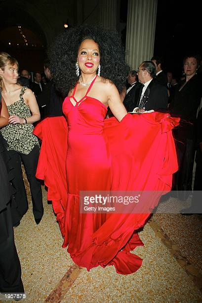 Diana Ross attends the Costume Institute Benefit Gala sponsored by Gucci April 28 2003 at The Metropolitan Museum of Art in New York City