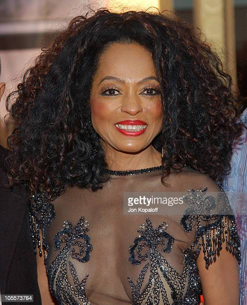 Diana Ross during 32nd Annual American Music Awards Arrivals at Shrine Auditorium in Los Angeles California United States