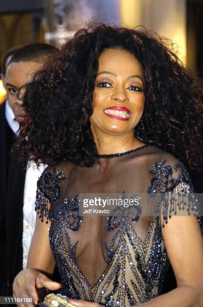 Diana Ross during 32nd Annual American Music Awards Red Carpet at Shrine Auditorium in Los Angeles California
