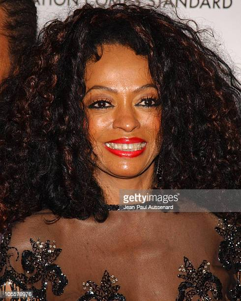 Diana Ross during Clive Davis Hosts A Celebration of The American Music Awards Arrivals at Esquire House in Beverly Hills California United States