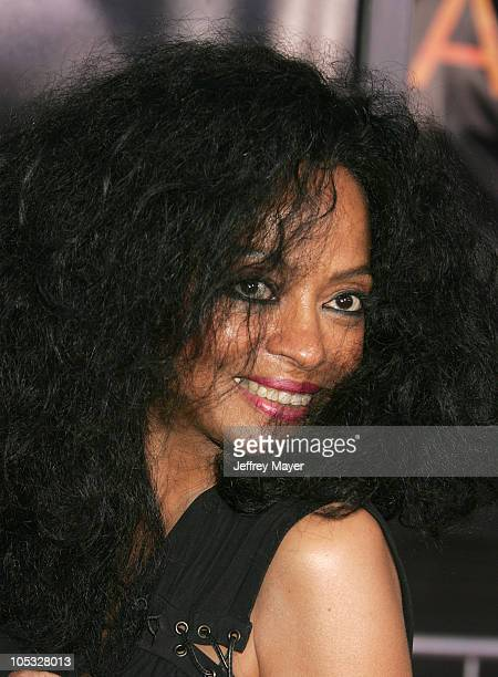 Diana Ross during 'Collateral' Los Angeles Premiere Arrivals at Orpheum Theatre in Los Angeles California United States