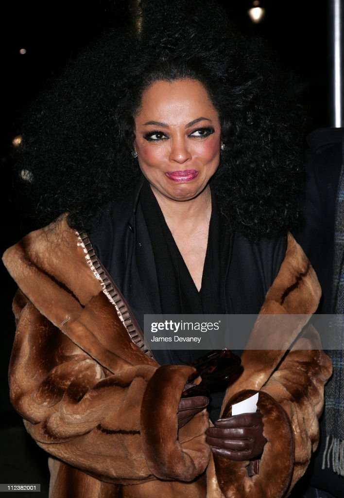 """Diana Ross Visits """"The Late Show with David Letterman"""" - January 16, 2007"""