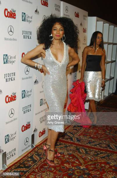 Diana Ross during MercedesBenz Fashion Week at Smashbox Studios and City of Hope Presents 'Rock the Runway' to Kick Off the Fall 2005 Collections at...