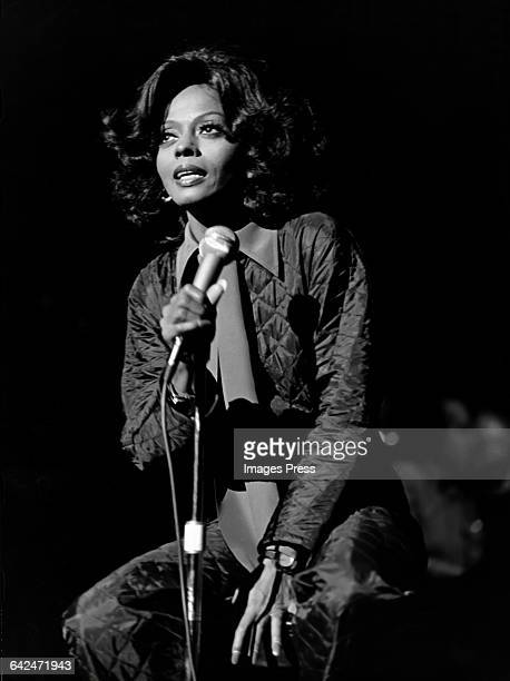 Diana Ross in concert circa 1975 in New York City