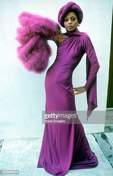 Diana Ross in Gown from Mahogany