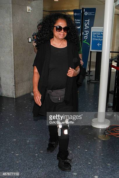 5d4708e7a2 Diana Ross is seen at LAX on October 22 2014 in Los Angeles California