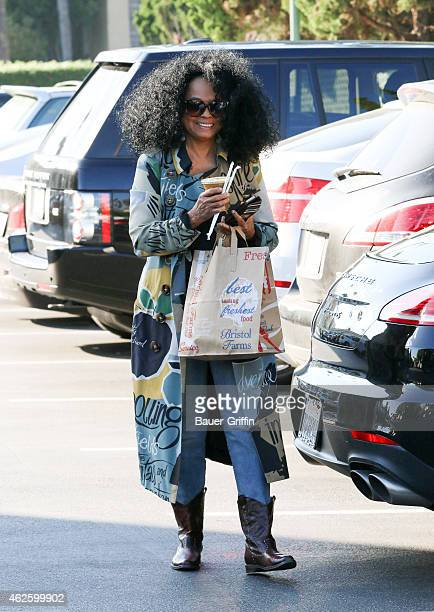 Diana Ross is seen on January 31 2015 in Los Angeles California