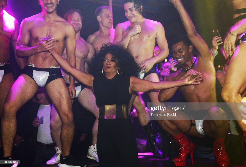Diana Ross Makes Surprise Appearance At The Abbey To Greet Fans And Promote Her New Remix Of 'Ain't No Mountain High Enough'