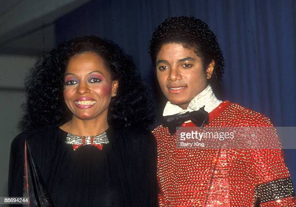 Diana Ross Michael Jackson at the American Music Awards