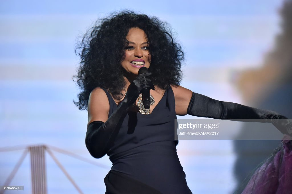 Diana Ross onstage during the 2017 American Music Awards at Microsoft Theater on November 19, 2017 in Los Angeles, California.