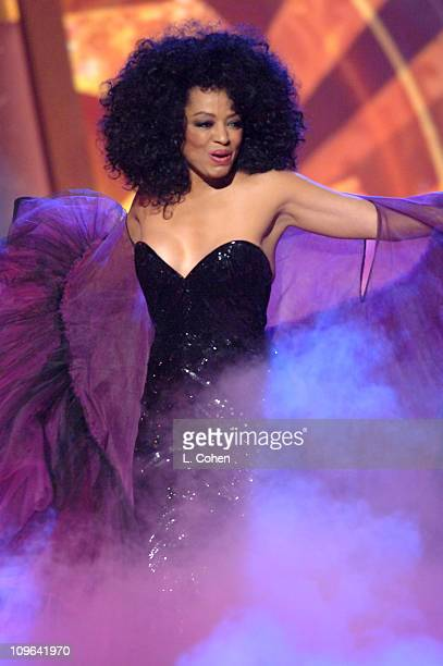 Diana Ross performs a medley including 'Touch Me in the Morning' 'The Boss' 'Do You Know' and 'Ain't No Mountain High Enough'