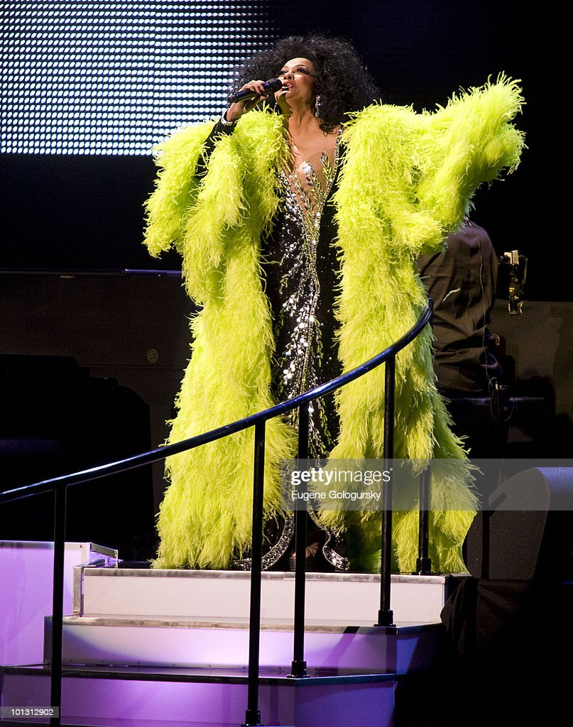 Diana Ross performs at Radio City Music Hall on May 19, 2010 in New York City.