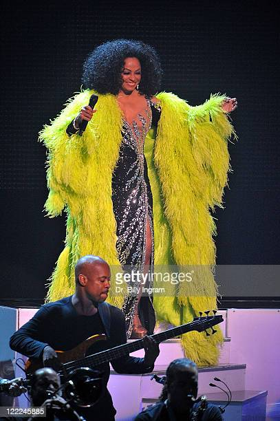 Diana Ross performs in concert at Nokia Theatre LA Live on June 9 2010 in Los Angeles California