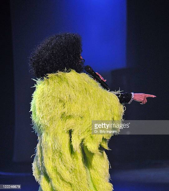 Diana Ross performs in concert at Nokia Theatre LA Live on June 9, 2010 in Los Angeles, California.