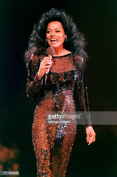 Diana Ross performs on stage at Ahoy Rotterdam Netherlands 17th October 1994