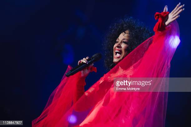 Diana Ross performs onstage at the 61st annual GRAMMY Awards at Staples Center on February 10 2019 in Los Angeles California
