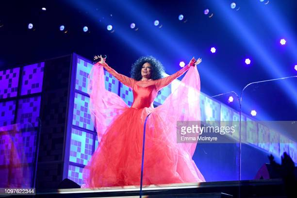 61st Annual Grammy Awards: Diana Ross Stock Photos And Pictures