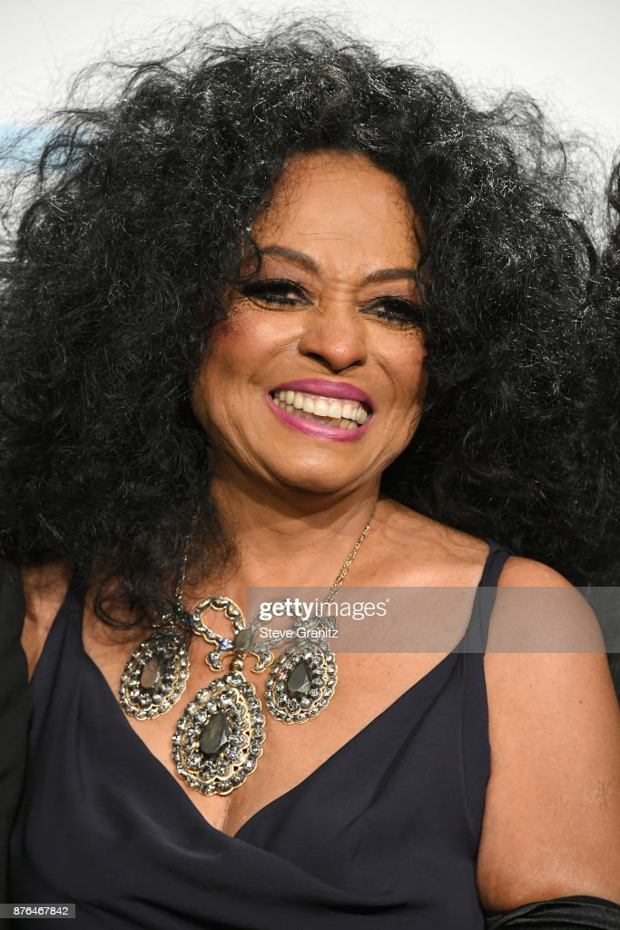 Diana Ross poses in the press room during the 2017 American Music Awards at Microsoft Theater on November 19, 2017 in Los Angeles, California.