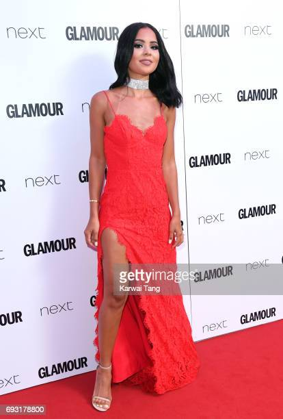 Diana Saldana attends the Glamour Women of The Year Awards 2017 at Berkeley Square Gardens on June 6 2017 in London England