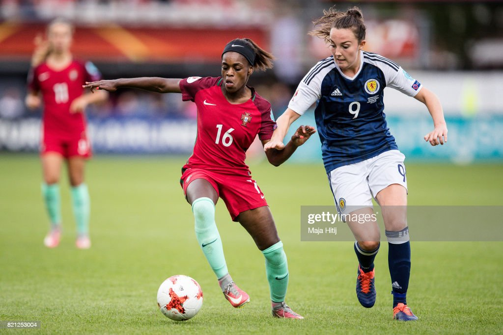 Scotland v Portugal - UEFA Women's Euro 2017: Group D : News Photo