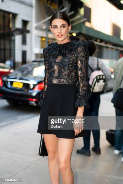Diana Silvers attends a screening for 'Booksmart' at the Whitby Hotel on May 21 2019 in New York City